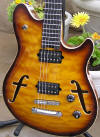 EVH Peavey Wolfgang hollow body guitar
