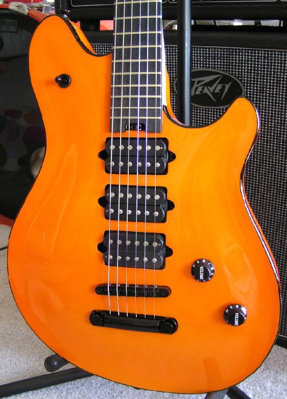 Orange 3 Humbucker custom